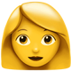 apple-emoji-woman