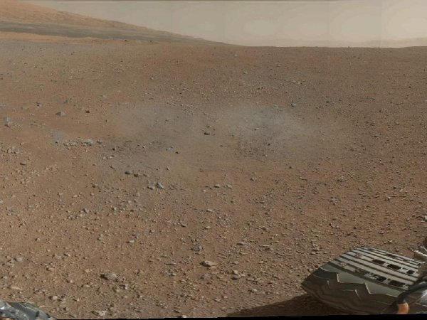 le cratère Gale, sur Mars
