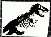 Chip kidd's dinosaur
