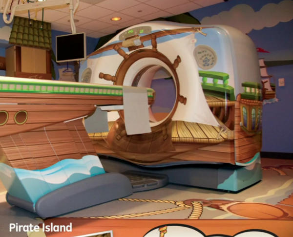 A MRI machine for kids