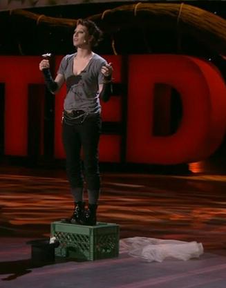 amanda palmer at TED 2013