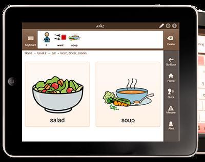 the Avaz app