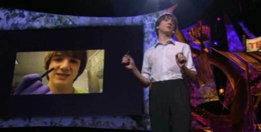 jack andraka on the TED stage