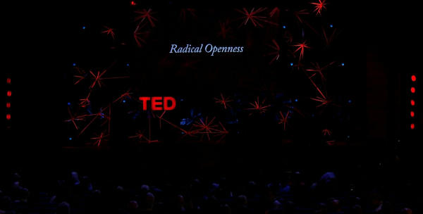 the TED global 2012 stage