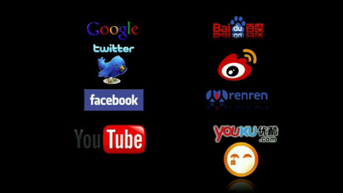 Chinese copies of all major websites