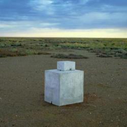 a sculpture by Antony Gormley