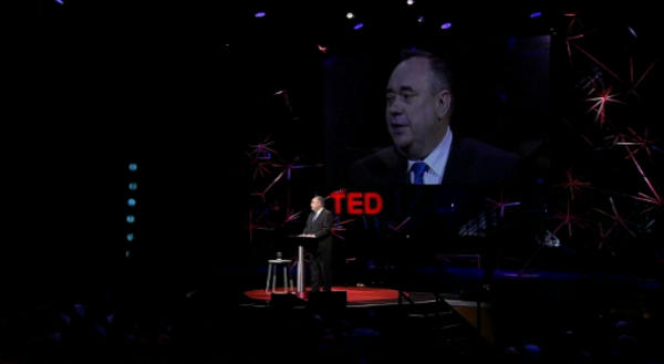 the first minister of scotland at TED