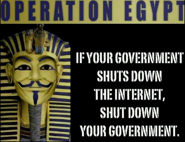 anonymous operation egypt