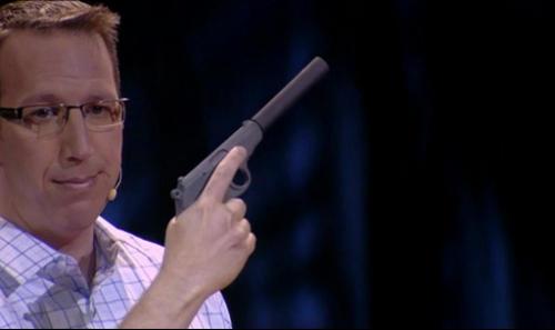 a 3D printed gun