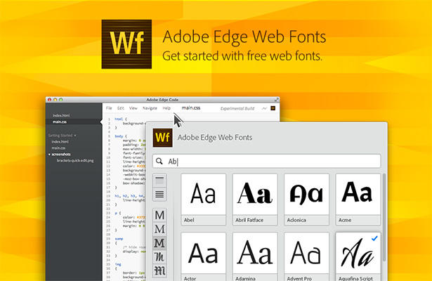 adobe web fonts