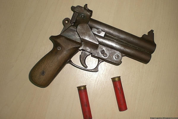 arme improvisée, Brésil