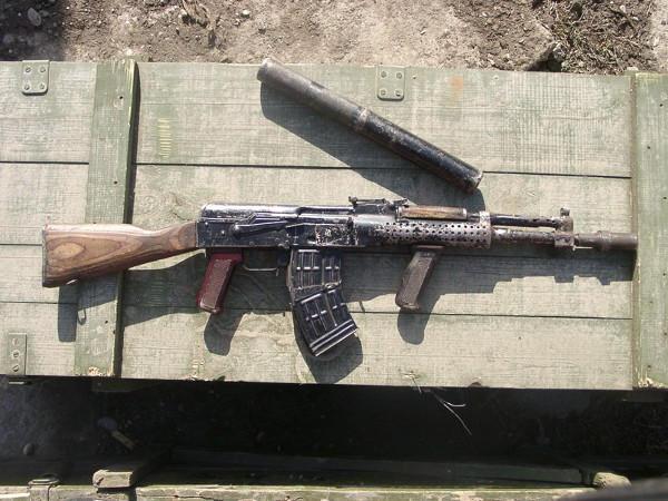 arme improvisée, Tchétchénie