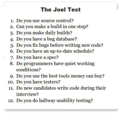 le test de joel