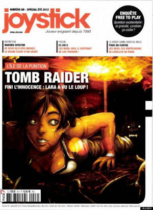 couverture du magasine Joystick