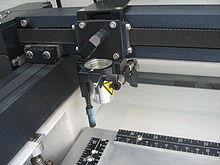 laser engraver, image (c) wikipedia