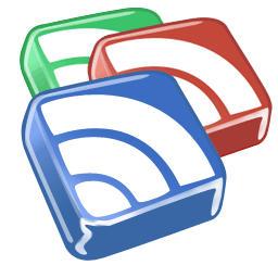 google reader's logo