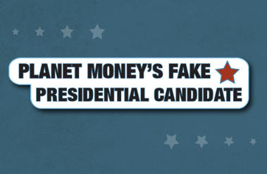 planet money's fake candidate logo
