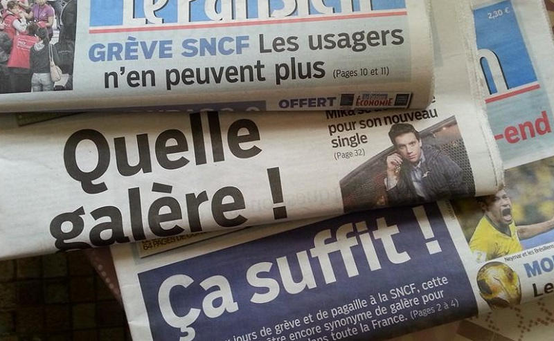 les couvertures du Parisien cette semaine