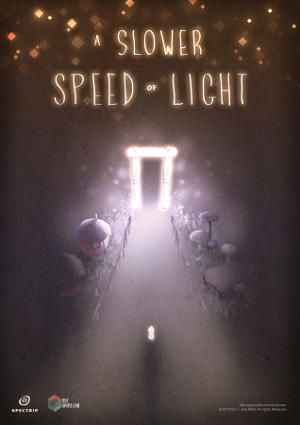 The poster for A Slower Speed of Light