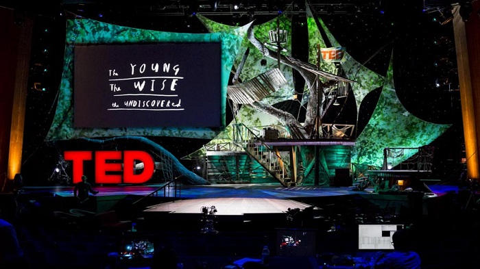 the ted 2013 stage