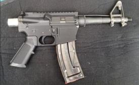 a 3D printed AR-15
