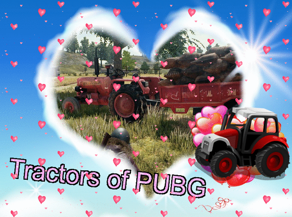 Tractors of PlayerUnknown's Battlegrounds (PUBG) 🚜