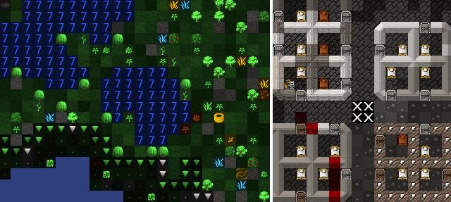 copie d'écran du jeu utilisant le pack graphique Phoebus