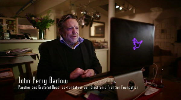 John Perry Barlow, de l'EFF