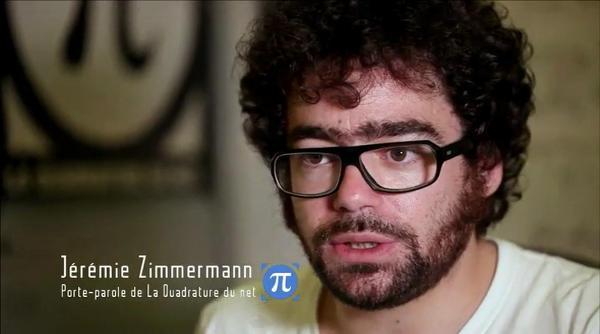 Jérémie Zimmermann, de la Quadrature du net