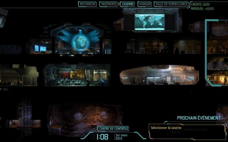 image du jeu XCOM, dans la base