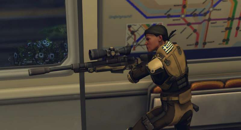 image du jeu xcom, un sniper