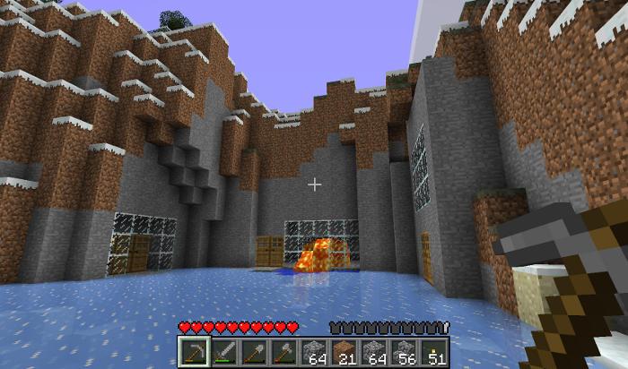 copie d'écran de Minecraft